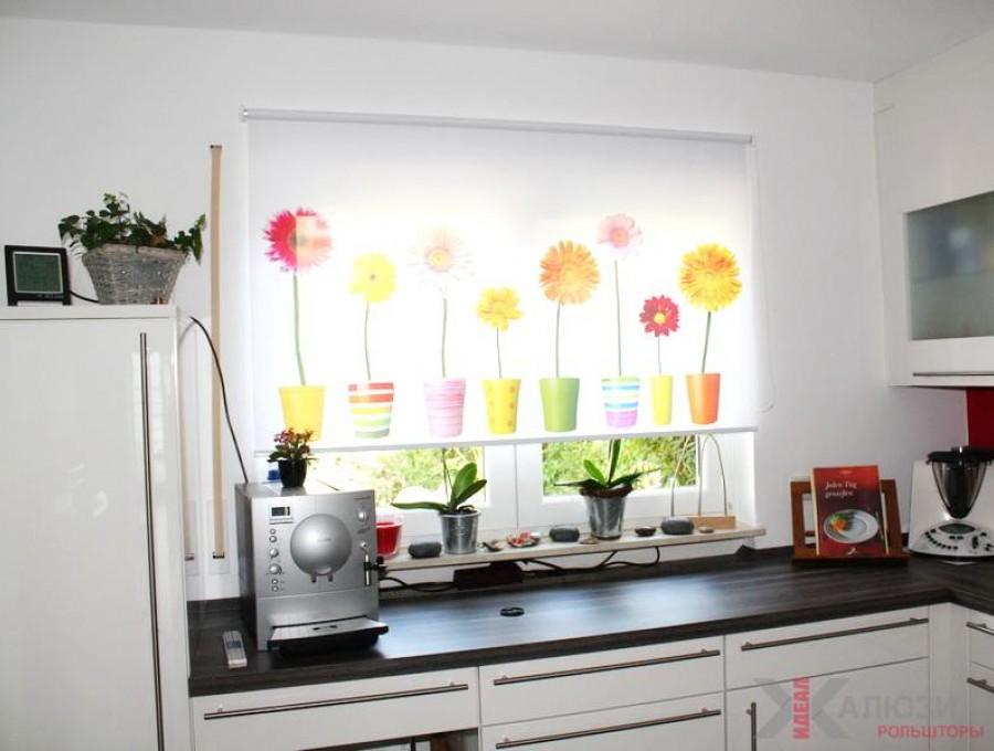 Рольшторы с фотопечатью на кухню