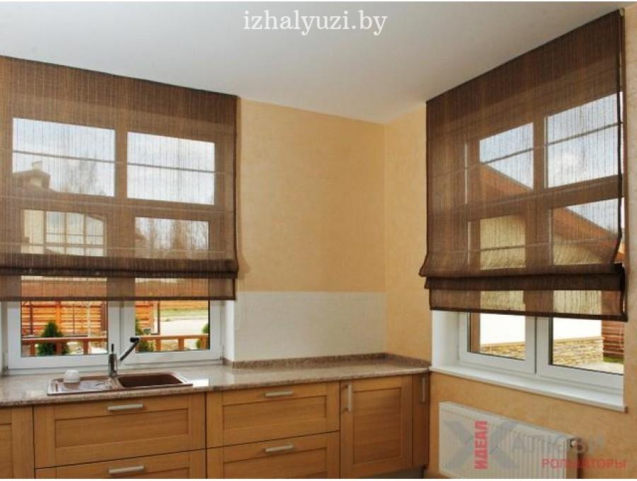 Римские шторы на кухню №02