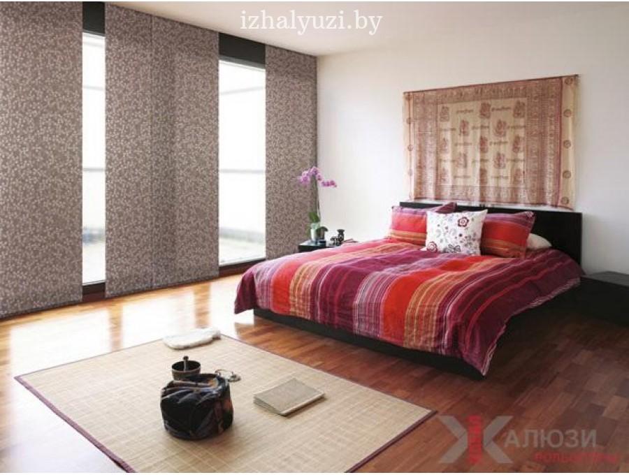Японские панели в спальню №04