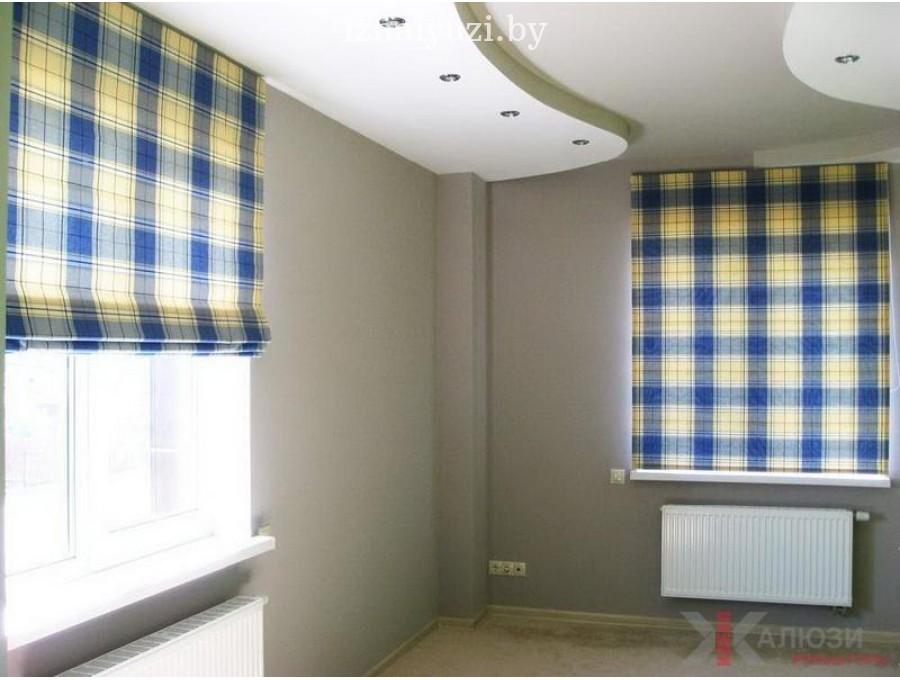 Римские шторы в гостинную