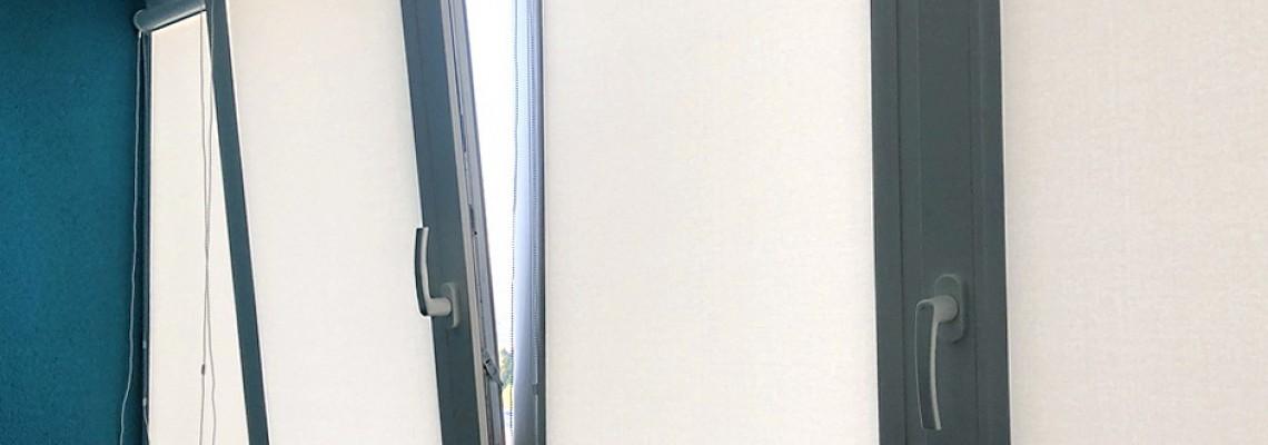 Все об уходе за рулонными шторами