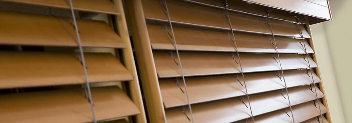 Особенности использования деревянных жалюзи