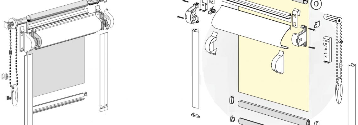 Кассетные рольшторы: особенности конструкции и ухода