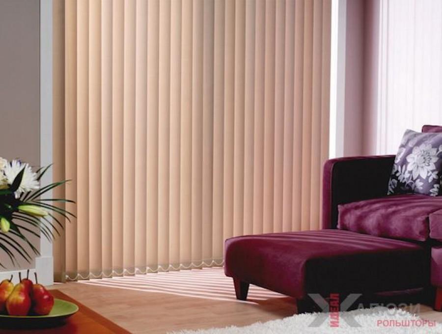 Вертикальные жалюзи в спальню №04