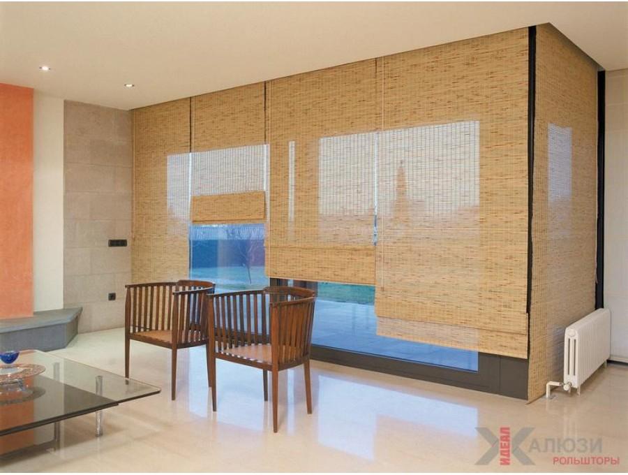 Бамбуковые римские в загородный дом