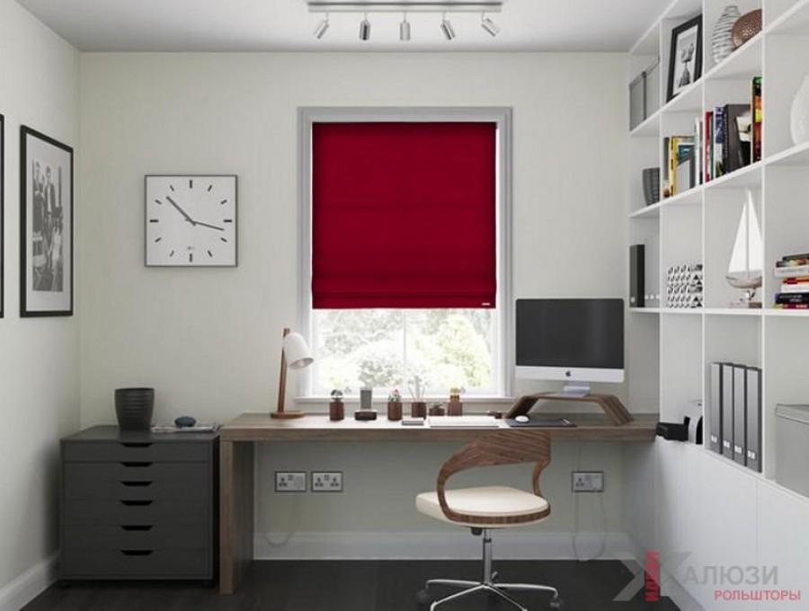 Римские шторы в кабинет